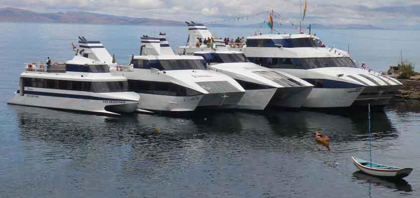 catamarán en las alturas | CATAMARAN-BOLIVIA