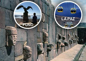 Puno - Tiahuanaco - La Paz.