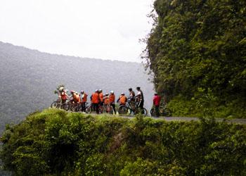 Biking - Coroico - Bolivia 1 d