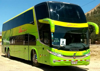 BUS PUNO CUSCO VIP