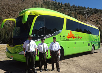 Ticket bus Puno Cusco [VIP 1]