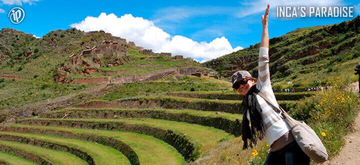 Centro Arqueologico Pisac por Fiestas Patrias en Cusco