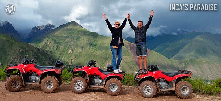 Diverson con Cuatrimotos en Maras Moray en Cusco