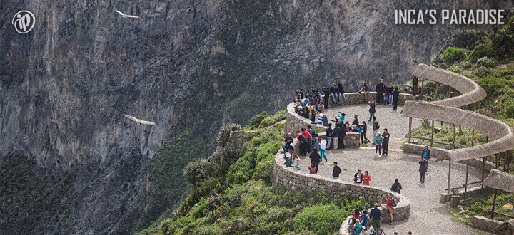 Mirador Cruz del Cañon del Colca por Fiestas Patrias en Arequipa