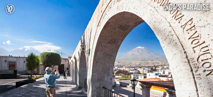 Mirador Yanahuara por Fiestas Patrias en Arequipa