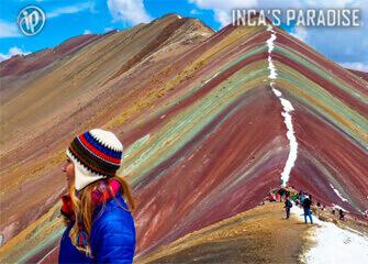 Montaña Colorada en Cusco