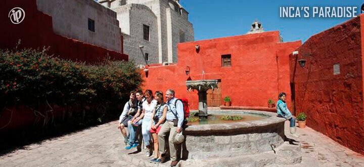 Templo en la Ciudad de Arequipa por Fiestas Patrias